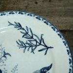 assiette de collection - Brocante de la Pointe Minard