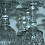 verres à vin - Brocante de la Pointe Minard