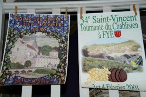 affiches de la Saint Vincent Brocante du Prieuré