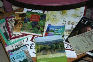 livres Bourgogne et vins Brocante de la Pointe Minard
