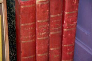 lire et écrire journal des voyages Brocante du Prieuré