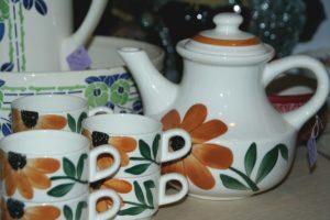 vaisselle vintage Gien Brocante de la Pointe Minard