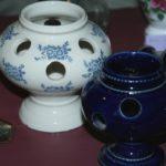 vase à crocus Saint Uze Brocante du Prieuré fête des grands-mères
