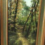 chemin en forêt de Camberlin à la Brocante du Prieuré de Chichée près de Chablis