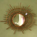miroir ORTF vintage à la Brocante du Prieuré de Chichée près de Chablis