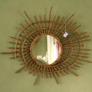 miroir ORTF vintage à la Brocante de la Pointe Minard de Plouézec, près de Paimpol