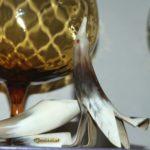 oiseau en corne vintage à la Brocante du Prieuré de Chichée près de Chablis