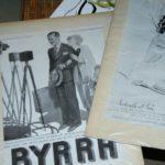 gravures mode publicité à la Brocante du Prieuré de Chichée près de Chablis