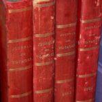 journal des voyages années 1880 à la Brocante du Prieuré de Chichée près de Chablis
