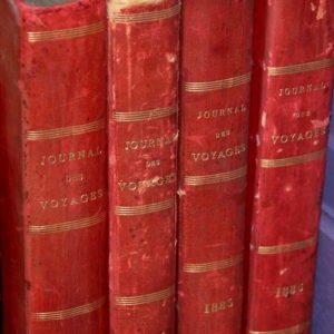journal des voyages années 1880 à la Brocante de la Pointe Minard de Plouézec, près de Paimpol