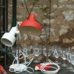 lampe de bureau vintage à la Brocante du Prieuré à Chichée près de Chablis