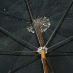 ombrelle ancienne à la Brocante de la Pointe Minard à Plouézec, près de Paimpol