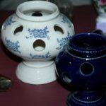 pot à crocus à la Brocante du Prieuré de Chichée près de Chablis