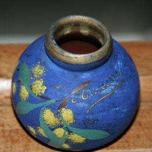 petit vase Auxerre de la Brocante de la Pointe Minard à Plouézec, près de Paimpol
