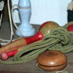 yoyo corde à sauter à la Brocante du Prieuré de Chichée près de Chablis
