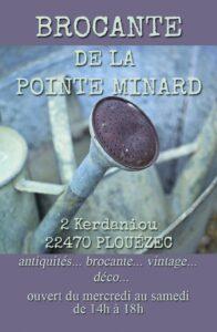 Brocante de la Pointe Minard à Plouézec, près de Paimpol